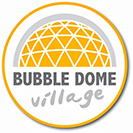 Bubble dome village. Dome hiring for your holidays.